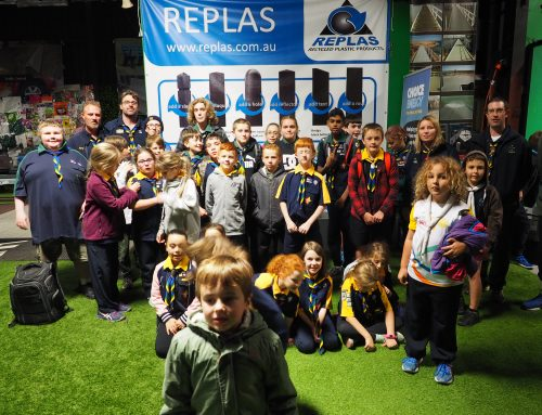 Narre Warren North Scout Group Explores the Replas Environmental Centre