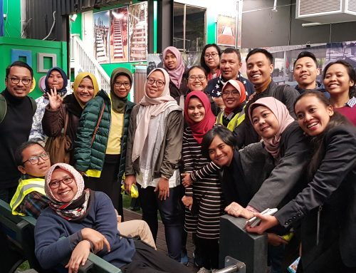 Griffith University And Indonesian Leaders Learn About Replas At The REC