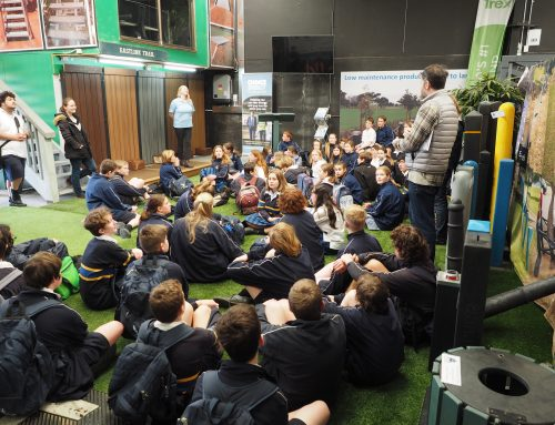 More Than 60 Students From Dromana College Visit Replas Environment Centre
