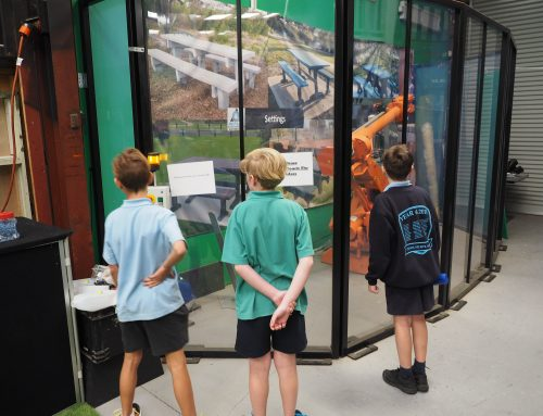 Grade 5 and 6 Our Lady of Fatima Students Tour The Replas Environmental Centre