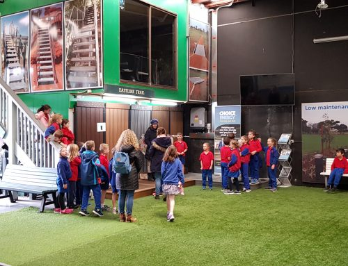 Aspendale Primary School Grade 2 Students Take The Replas Environmental Tour